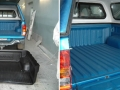 Blue Ute Bed Liner